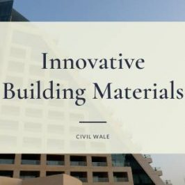 Innovative Building Materials