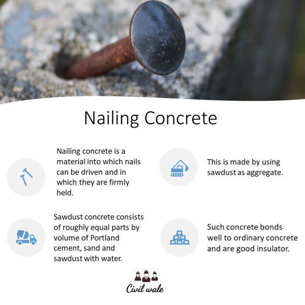 Nailing Concrete