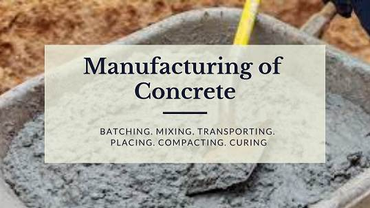 Manufacturing of Concrete