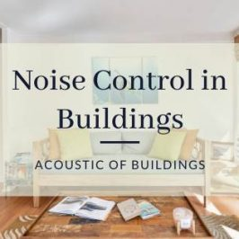 noise control in buildings