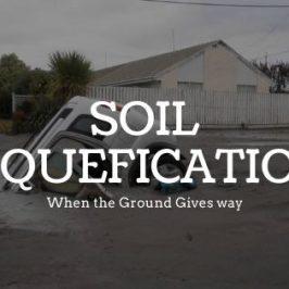 Soil Liquefication