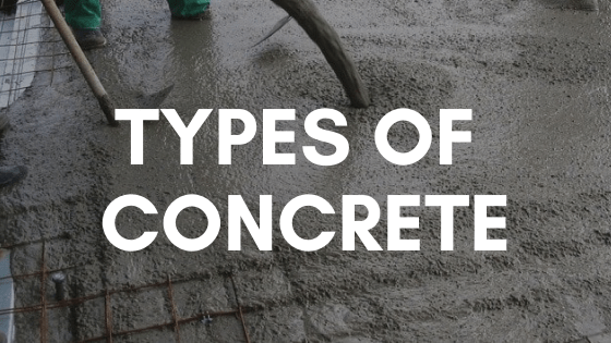 12 Types of Concrete