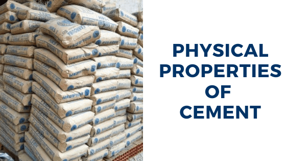 Physical Properties of Cement