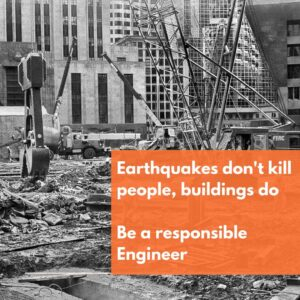 Civil Engineering Quote Earthquake